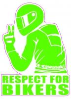 Respect for Bikers, Kawasaki sticker