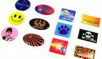 Stickers, etiketten op rol